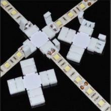 Lisätarvikkeet - LED-Nauhan X-kulmapala pikaliitin