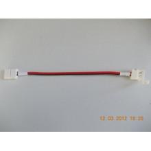 Lisätarvikkeet - LED-Nauhan kulmajohto pikaliitin - 8mm