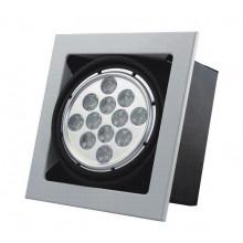 LED Kohdevalaisin - 9W - käännettävä/kotelointi - 520lumen - 4500K - neutraalivalkoinen (kaikki 4kpl 125e)