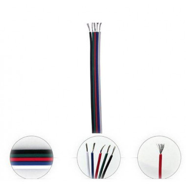 Lisätarvikkeet - RGB-asennusnauhaa - 10 cm