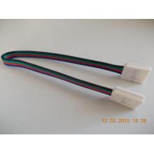 Lisätarvikkeet - LED-Nauhan kulmajohto pikaliitin - 8/10/RGB/RGBW
