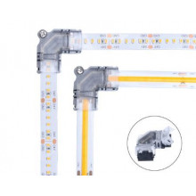 Lisätarvikkeet - kulmaliitin LED-nauha - 126&182LED