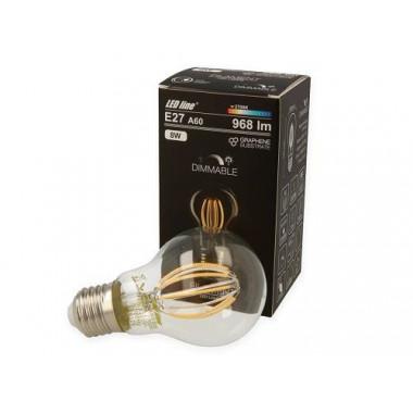 E27 filament lamppu - 8W - 968lm - 4000K - Himmennettävissä