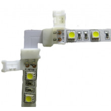 Lisätarvikkeet - LED-Nauhan kulmapala pikaliitin - 8mm (eli perus led nauha)