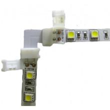 Lisätarvikkeet - LED-Nauhan kulmapala pikaliitin - 8mm/10mm